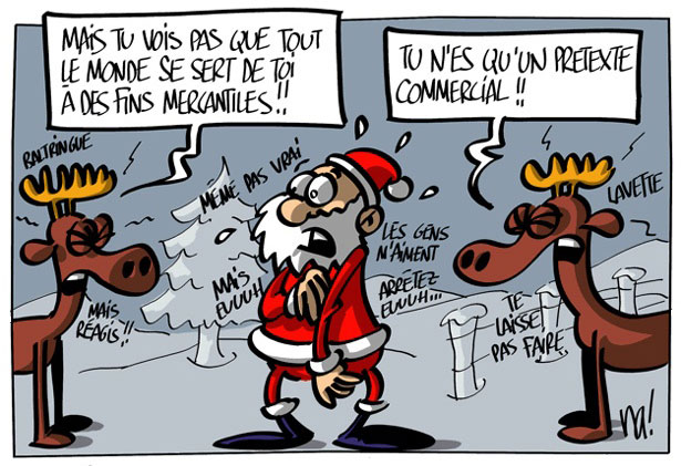 Calendrier De Lavent Humour.Calendrier De L Avent Humour Avec Les Rennes