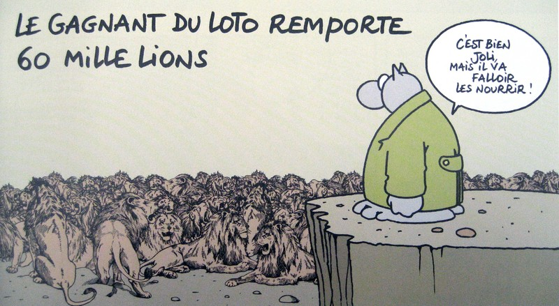 Humour nature images le chat de philippe geluck - Dessin chat humour ...