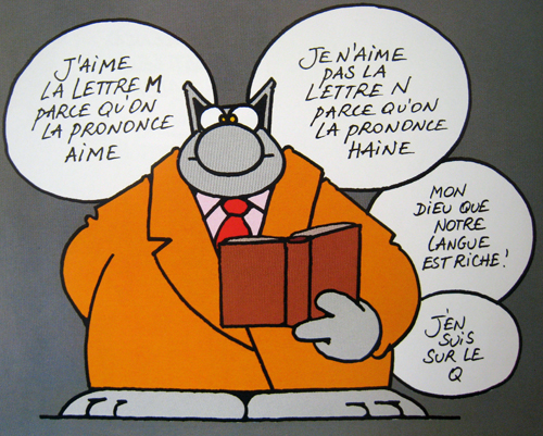 Humour nature : images le chat de philippe geluck